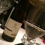Ristorante Cascina Canamilla - お任せワイン