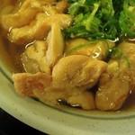 桂川パーキングエリア(下り線)スナックコーナー - つゆとの相性抜群の鶏肉