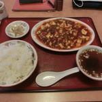 雪梅 - 料理写真:麻婆豆腐定食
