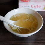 自家製麺 ほうきぼし - スープ