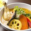 Sakuraburaun - 料理写真:チキン野菜カリー 1100円です