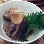 すし処 月ヶ瀬 - 地鶏の肝煮
