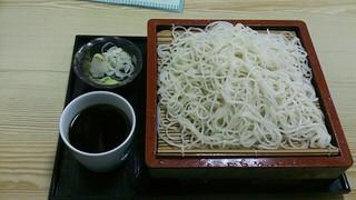 鶴乃庵 - もり(大) 610円