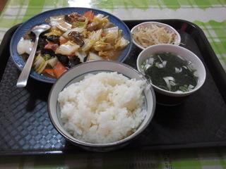 満州屋 - Dランチ(500円)