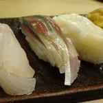 鮨処もり山 - ほうぼう・〆鯖・つぶ貝