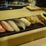 鮨処もり山 - にぎり(ことぶき)3,150円