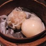 青龍門 - 海老餃子、焼売