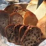 24615019 - パンの盛り合わせ
