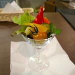 ジャミン - 彩り野菜のピクルス
