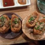 恵比寿横丁 肉寿司 - 稲荷&上稲荷