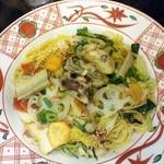 24618787 - 牡蠣と京野菜の醤油バター
