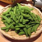 24620631 - 飲み放題コース(4000円)の枝豆