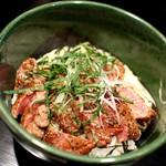 西洋割烹柏葉亭 - ステーキ丼☆
