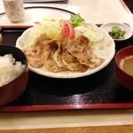 24622251 - 豚の生姜焼き定食