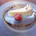 オステリア たのうえ - ベィクドチーズケーキ