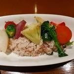 BONCOURAGE - 五穀米と練馬野菜のご飯
