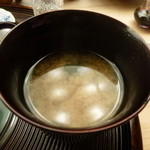 懐石料理 桝田 - 味噌汁