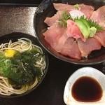 Kuchihacchoukazeyasugihara - 10食限定の鉄火丼❗️             今日は早かったのでGET(^o^)/