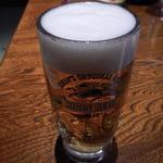 もてなしや将 - 生ビール