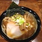 魚之助 - ド煮干ラーメン700円