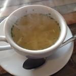 キリン堂  - スープ(卵、オニオン)