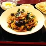 西遊記 - ランチ定食680円