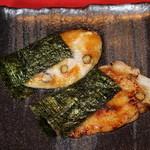 魚菜えぼし庵・隠座 - 京都・丹波黒豆餅のデサート。限定品