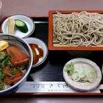 そば処きく池 - そば処 きく池 @板橋本町 おさしみセット 900円