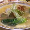 Bamiyan - 料理写真:あさりと菜の花の湯麺699円