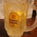 きはるの胡麻鯖や - [2014.03]福岡公式飲料ハイボールでしゅわしゅわするでしょ!?