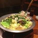 On - ぺちゃんこになりました…食べ頃♪♪♪新メニューの洋風モツ煮も最高に美味いです❗️