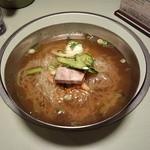 24644574 - 手打ち冷麺(そば粉)大盛1,150円