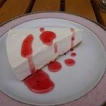 オリーヴの木 - レアチーズケーキです