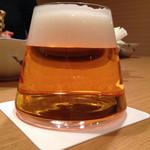 串幸 - 富士山グラス生ビール