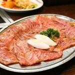焼肉 京城 - 2014.3 上ロース(2,000円)タレ 2人前