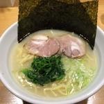 麺家 六三四 - 塩ラーメン・並(600円)