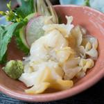 雑魚膳 しながわ - 北海 ツブ貝造り
