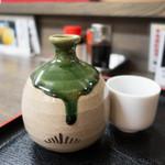 雑魚膳 しながわ - 真澄 純米酒 ぬる燗で 580円