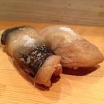つかさ鮨 - 穴子は、もちろん、塩で注文!!