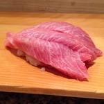 つかさ鮨 - インドマグロの大トロ!!       こちらも熟成感あり!脂はしつこくない♪