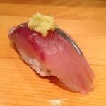 つかさ鮨 - 鯵も熟成されて美味し!!