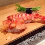 つかさ鮨 - 赤貝&車海老&芽ネギ♪