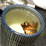 小料理荒井 - ふぐひれ酒420円