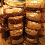 喫茶生活 - 生豆がいっぱい