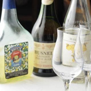 厳選したワインとお料理のマリアージュをお楽しみください。
