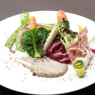 横浜の地野菜と自家栽培野菜にこだわったイタリアンに舌鼓