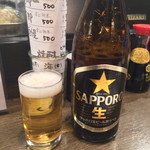海と - 「サッポロ瓶ビール」500円