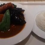 SHIP'S LOG - チキン野菜カリー ウインナートッピング 5辛