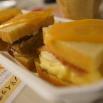 Cafeねんりん家 - 2種サンド