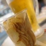 Cafeねんりん家 - 厚切りポテトと氷生
